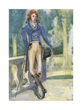 A Man of the Time of George IV 1820-1830 Giclee Print by Dion Clayton Calthrop