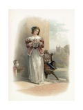 Anne Page from the Merry Wives of Windsor Giclee Print by Sir Augustus Wall Callcott