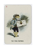 The Frog-Footman Giclee Print by John Tenniel