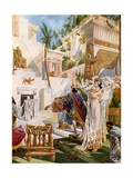 Semiramide, Act I Scene XI Giclee Print by William De Leftwich Dodge