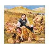 Sir Arthur Conan Doyle Giclee Print by Roger Payne
