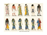 Asiatic and African Types Giclee Print by  European School