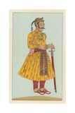 India Costume Giclee Print by  French School