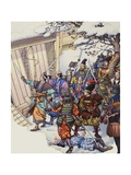The Legend of the Forty-Seven Ronin Giclee Print by Pat Nicolle
