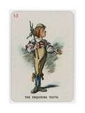 The Enquiring Youth Giclee Print by John Tenniel