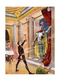 Don Giovanni, Act II Scene XX Giclee Print by William De Leftwich Dodge