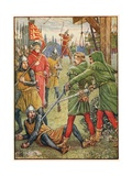 The Rescue of Will Stutley Giclee Print by Walter Crane