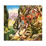 George Borrow, the Roving Adventurer Giclee Print by Ron Embleton