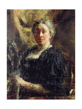 Lady Gregory, 1906 Giclee Print by Antonio Mancini
