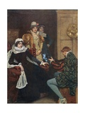 Mary Stuart and Chastelard Giclee Print by Sir James Dromgole Linton