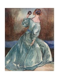 A Woman of the Time of the Cromwells 1649-1660 Giclee Print by Dion Clayton Calthrop