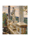 Statue of Vertumnus at Frascati, 1907 Giclee Print by John Singer Sargent