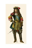King Louis XIV of France Giclee Print by Albert Kretschmer
