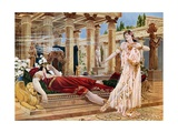 The Queen of Sheba, Act IV Scene X Giclee Print by William De Leftwich Dodge
