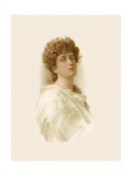 Tennyson's Lady Clara Vere de Vere Giclee Print by Marcus Stone