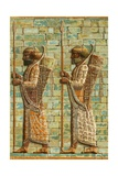 Royal Archers of Darius Giclee Print by  European School