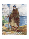 A Man of the Time of Stephen 1135-1154 Giclee Print by Dion Clayton Calthrop