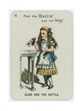 Alice and the Bottle Giclee Print by John Tenniel
