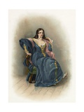 Katharina from the Taming of the Shrew Giclee Print by Charles Robert Leslie