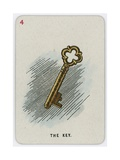 The Key Giclee Print by John Tenniel