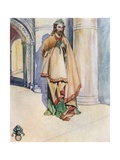 A Man of the Time of Henry I 1100-1135 Giclee Print by Dion Clayton Calthrop