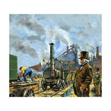 Puffing Billy Giclee Print by Harry Green