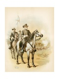 On the Eve of Gettysburg - General Lee Directing the Battle Giclee Print by  North American