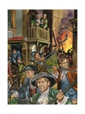 Thief-Catcher General Giclee Print by Ron Embleton