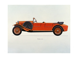 Tatra Motor Car, 1925 Giclee Print by  French School