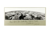 Khan Yunis from the Castle Tower, South Palestine, July 1917 Giclee Print by Capt. Arthur Rhodes