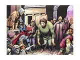 The Hunchback of Notre Dame Giclee Print by  English School