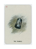 The Thimble Giclee Print by John Tenniel