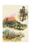 Horses Giclee Print by Eric Parker