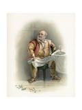 Shakespeare's Falstaff Giclee Print by Charles Robert Leslie