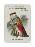 The King Arguing Giclee Print by John Tenniel