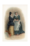 Mistress Page and Mistress Ford from the Merry Wives of Windsor Giclee Print by Charles Robert Leslie