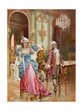 La Traviata, Act II Scene IV Giclee Print by William De Leftwich Dodge