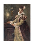 Mary Queen of Scots Giclee Print by Sir James Dromgole Linton