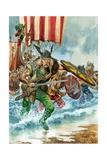 Vikings Giclee Print by Peter Jackson