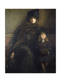 Mother and Child, 1909 Giclee Print by Sir John Lavery