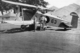 Japanese Military Plane in Manchuria, 1933 Photographic Print by  Japanese Photographer