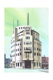 BBC Headquarters Giclee Print by  English School