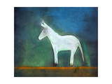 Donkey, 2011 Giclée-tryk af Roya Salari