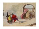 Carmen, Act IV Scene II Giclee Print by William De Leftwich Dodge