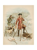 Young Washington, Surveyor Giclee Print by  North American