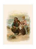 Tennyson's Enoch Arden Giclee Print by Robert Kemm
