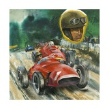 Juan Manuel Fangio Giclee Print by  English School