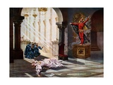 Faust, Act IV Scene V Giclee Print by William De Leftwich Dodge