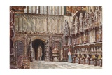 Henry VII's Chapel, Westminster Abbey Giclee Print by John Fulleylove