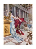 Norma, Act II Scene X Giclee Print by William De Leftwich Dodge